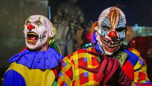Horror durch Clowns